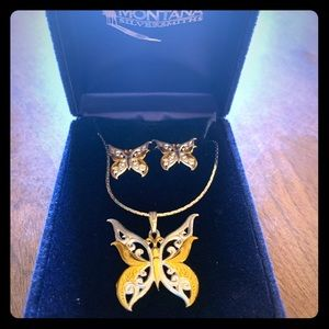 Montana Silver Butterfly Set